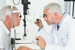 Eye Exam for Glaucoma Diagnosis